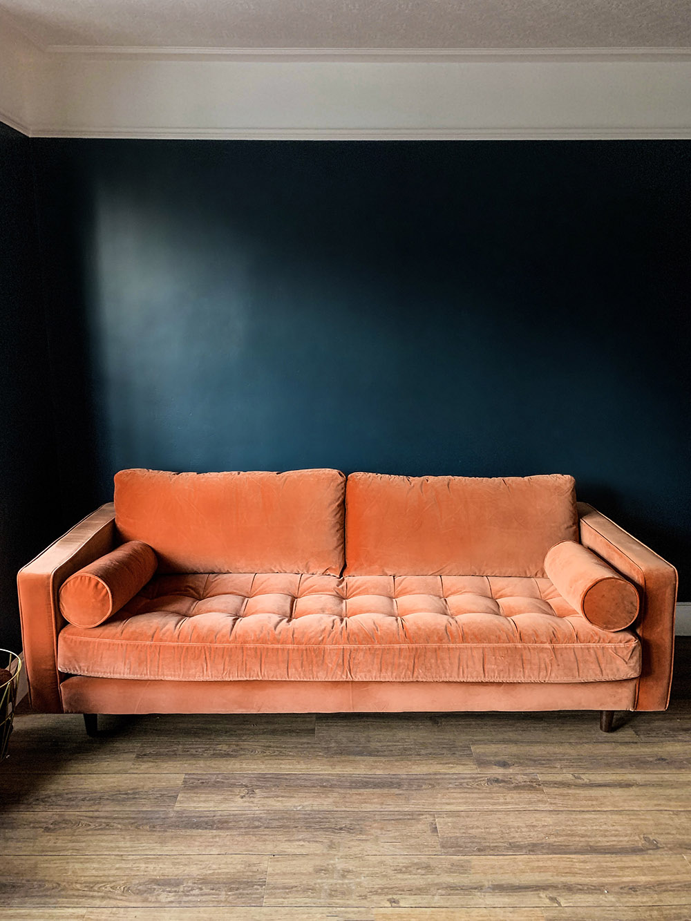 Made Scott Sofa in orange
